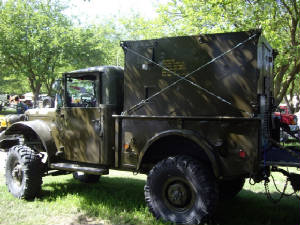 Vintage Military Shetler Carriers
